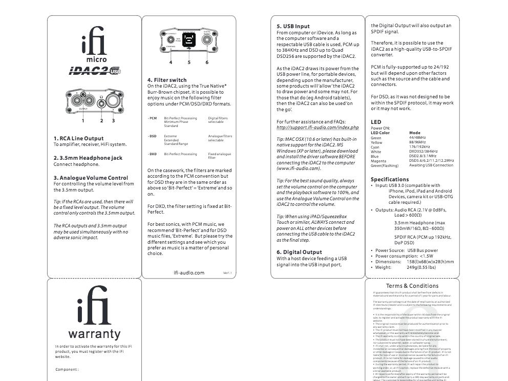 Dac ifi audio micro idsd: mais jusqu'où ifi audio va-t-il aller.
